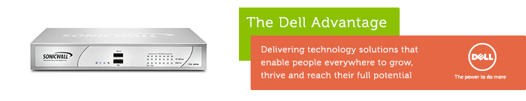 The Dell Advantage with Dell SonicWALL TZ 215W