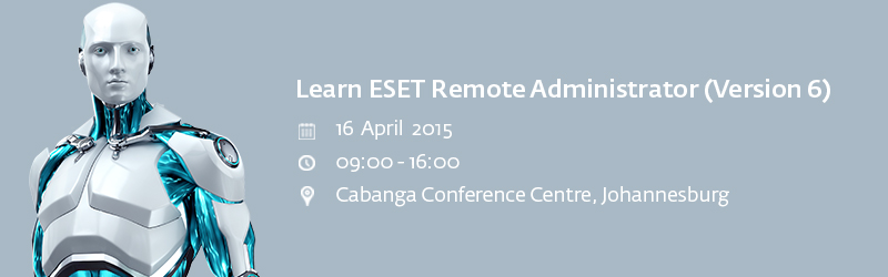 RSVPs are now open for the FREE Boot Camp by AVeS and ESET in Johannesburg
