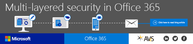 Multi-layered security in Office 365