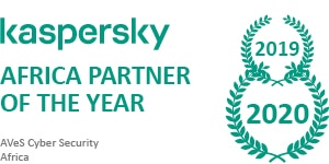 AVeS Cyber Security is the Kaspersky Africa Partner of the Year for 2019 & 2020